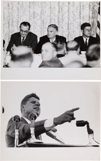 John F. Kennedy: Two Jacques Lowe Photographs