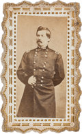 Political:Miscellaneous Political, George B. McClellan: An Unusual, Fancy Card in Virtually MintCondition. ...