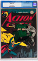 Action Comics #70 Mile High pedigree (DC, 1944) CGC NM/MT 9.8 Off-white to white pages