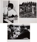 Political:Small Paper (1896-present), John F. and Robert Kennedy: Three Jacques Lowe Photographs. ... (Total: 3 Items)