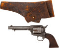 Handguns:Single Action Revolver, 7th Cavalry: A Rare Colt with Serial Number Falling in the 7th Cavalry Range. ...