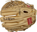 Baseball Collectibles:Others, Bob Gibson Signed Mini Gold Glove....