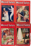 Pulps:Horror, Weird Tales Group (Popular Fiction, 1927) Condition: Average VG....(Total: 9 Items)