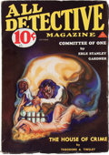 Pulps:Detective, All Detective Magazine - October '33 (Dell, 1933) Condition: FN....