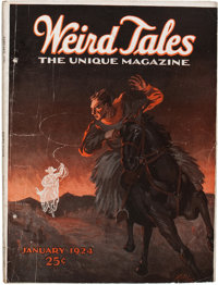 Weird Tales - January '24 (Popular Fiction, 1924) Condition: VG-