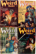 Pulps:Horror, Weird Tales Group (Popular Fiction, 1939-40) Condition: Average FN-.... (Total: 17 Items)