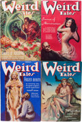 Pulps:Horror, Weird Tales Group (Popular Fiction, 1938) Condition: AverageFN-.... (Total: 11 Items)