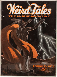 Weird Tales - February '24 (Popular Fiction, 1924) Condition: VG