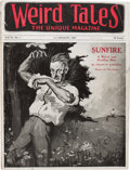 Pulps:Horror, Weird Tales - July/August '23 (Popular Fiction, 1923) Condition: VG-....