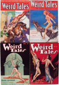 Pulps:Horror, Weird Tales - Conan Group (Popular Fiction, 1933-35) Condition:Average FN-.... (Total: 13 Items)