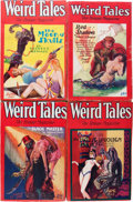 Pulps:Horror, Weird Tales - Solomon Kane Group (Popular Fiction, 1928-32)Condition: Average VG.... (Total: 8 Comic Books)