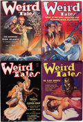 Pulps:Horror, Weird Tales Group (Popular Fiction, 1934-36) Condition: AverageFN-.... (Total: 7 Items)