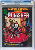 Magazines:Superhero, Marvel Preview #2 The Punisher (Marvel, 1975) CGC NM 9.4 Off-white to white pages....