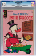 Bronze Age (1970-1979):Cartoon Character, Uncle Scrooge #92 (Gold Key, 1971) CGC NM- 9.2 Off-white pages....