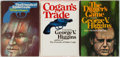 Books:Mystery & Detective Fiction, George Higgins. Two First Editions and One Book Club with FirstEdition Sheets. Knopf: 1972-74. Coogan's Trade and The...(Total: 3 Items)