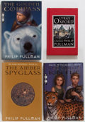 Books:Children's Books, Philip Pullman. His Dark Materials Trilogy Plus Lyra'sOxford. Knopf: 1996-2003. First American edit... (Total: 4Items)