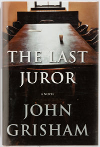 John Grisham. SIGNED. The Last Juror. Doubleday, 2004. First edition. Signed by the