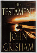 Books:Fiction, John Grisham. SIGNED. The Testament. Doubleday, 1999. Firstedition. Signed by the author on the half-title page...