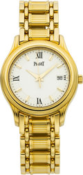 Estate Jewelry:Watches, Piaget Lady's Gold Wristwatch. ...