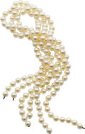 Estate Jewelry:Necklaces, Cultured Pearl Necklaces. ...