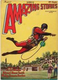 Pulps:Science Fiction, Amazing Stories V3#5 (Ziff-Davis, 1928) Condition: VF....
