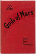 Books:Science Fiction & Fantasy, Edgar Rice Burroughs. The Gods of Mars. A. C. McClurg &Co., 1918. First edition. Frontispiece by Frank E. Schoo...