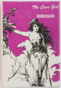 Books:Science Fiction & Fantasy, Edgar Rice Burroughs. The Cave Girl. Canaveral Press, 1974. First edition thus. Illustrated by Roy G. Krenkel. P...