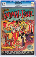 Golden Age (1938-1955):Funny Animal, Animal Fair #1 (Fawcett Publications, 1946) CGC VG/FN 5.0 Cream tooff-white pages....