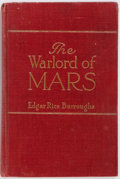 Books:Science Fiction & Fantasy, Edgar Rice Burroughs. The Warlords of Mars. A. C. McClurg & Co., 1919. First edition. Frontispiece by J. Allen S...