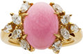Estate Jewelry:Rings, Conch Pearl, Diamond, Gold Ring, Mikimoto. ...