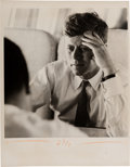 Political:Small Miscellaneous (1896-present), John F. Kennedy: Jacques Lowe Photograph....
