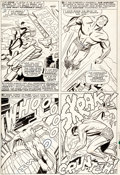 Original Comic Art:Panel Pages, Jack Kirby and Dick Ayers Tales to Astonish #83 Sub-MarinerPage 5 Original Art (Marvel, 1966)....