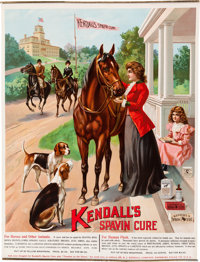Advertising: Kendall's Spavin Cure Store Poster