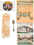 General Historic Events:Expos, Alaska Yukon Pacific Exposition: Four Souvenirs. ... (Total: 4Items)