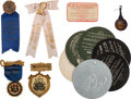 Miscellaneous:Ephemera, Vintage Advertising: Badges and Novelties.... (Total: 2 Items)