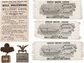 General Historic Events:Expos, Expositions 1885-1909: Assorted Souvenirs. ... (Total: 6 Items)