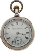 Antiques:Clocks & Watches, Elko, Nevada: A Fine Silver Man's Pocket Watch by L. Wintermantel....