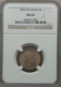 Liberty Nickels: , 1883 5C No Cents MS64 NGC. NGC Census: (2253/2374). PCGS Population(3166/1759). Mintage: 5,479,519. Numismedia Wsl. Price ...