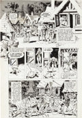 "Original Comic Art:Panel Pages, Wally Wood Woodwork Gazette #2 ""The End"" Page 2 Original Art(Wood, 1978)...."