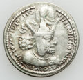 Ancients:Oriental, Ancients: SASANIAN KINGDOM. Shapur I the Great (AD 240-272). AR drachm (4.10 gm)....