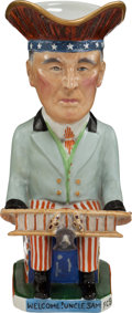 Political:3D & Other Display (1896-present), Woodrow Wilson: Allied Leaders Toby Mug....