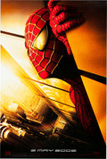 "Memorabilia:Movie-Related, Spider-Man Advance Movie Poster with ""Twin Towers"" Image(Columbia Pictures/Marvel, 2001)...."