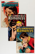 Golden Age (1938-1955):Romance, Glamorous Romances Group (Ace, 1950-55) Condition: Average VF....(Total: 17 Comic Books)