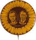 Political:Pinback Buttons (1896-present), Landon & Knox: Choice and Rare Sunflower Jugate. ...