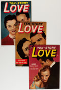 Golden Age (1938-1955):Romance, Ten Story Love Group (Ace, 1954-56) Condition: Average VF....(Total: 10 Comic Books)