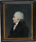 Political:3D & Other Display (pre-1896), Alexander Hamilton: Important Sharples Pastel Portrait....