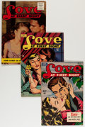 Golden Age (1938-1955):Romance, Love at First Sight Group (Ace, 1950-56) Condition: Average VF.... (Total: 9 Comic Books)
