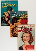 Golden Age (1938-1955):Romance, Complete Love Magazine Group (Ace, 1952-56) Condition: AverageFN.... (Total: 13 Comic Books)