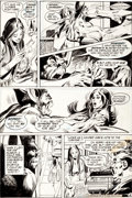 "Original Comic Art:Panel Pages, Neal Adams and Dick Giordano Detective Comics #407 ""Bride ofthe Man-Bat"" Page 8 Original Art (DC, 1971)...."