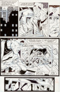 Original Comic Art:Panel Pages, Todd McFarlane Amazing Spider-Man #317 Page 18 Original Art(Marvel, 1989)....